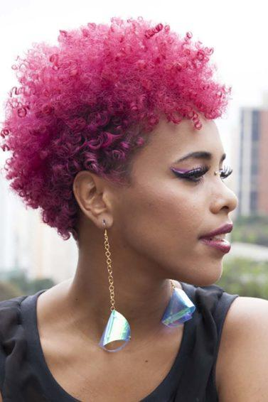 pink hairstyles for breast cancer awareness