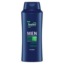 suave deep clean peppermint-shampoo