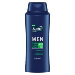 suave deep clean peppermint-shampoo