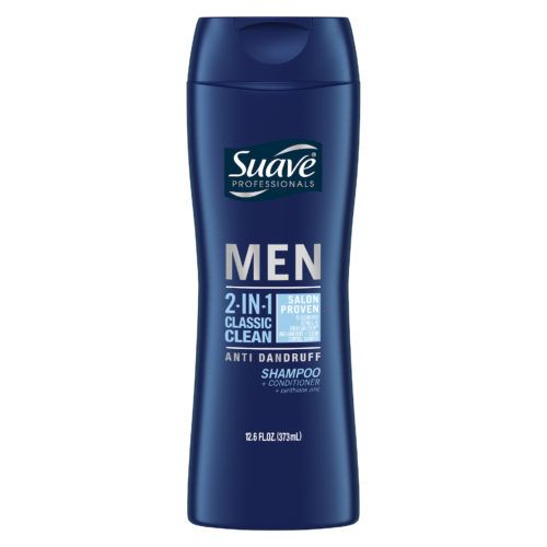SUAVE MEN 2-IN-1 ANTI-DANDRUFF CLASSIC CLEAN SHAMPOO + CONDITIONER