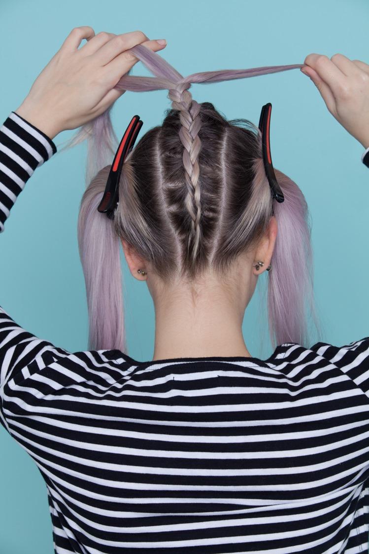 underneath braid tutorial continue braid