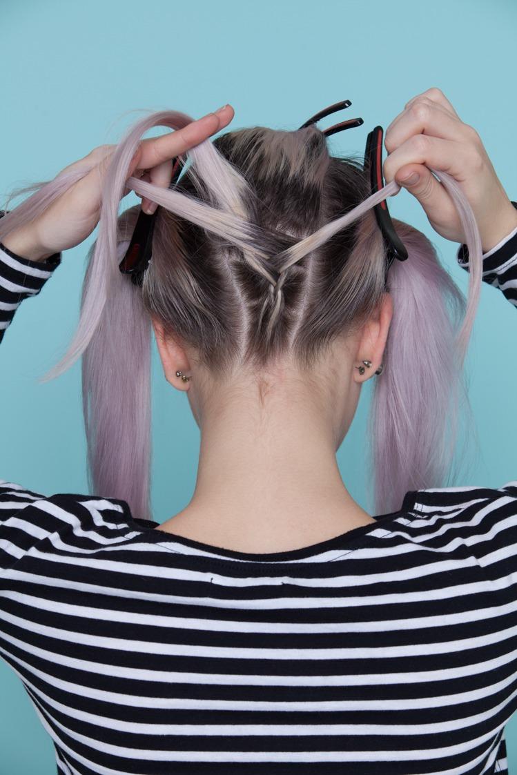 under braids create your braid