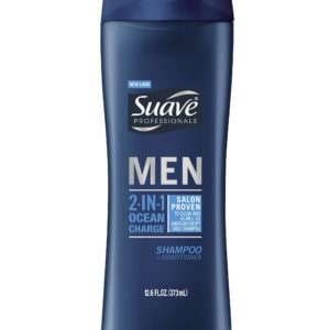 SUAVE MEN 2-IN-1 OCEAN CHARGE SHAMPOO + CONDITIONER