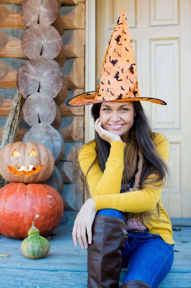 fall hats halloween hair care