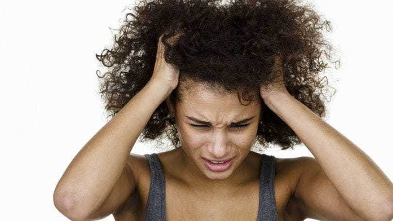 itchy scalp causes natural hair