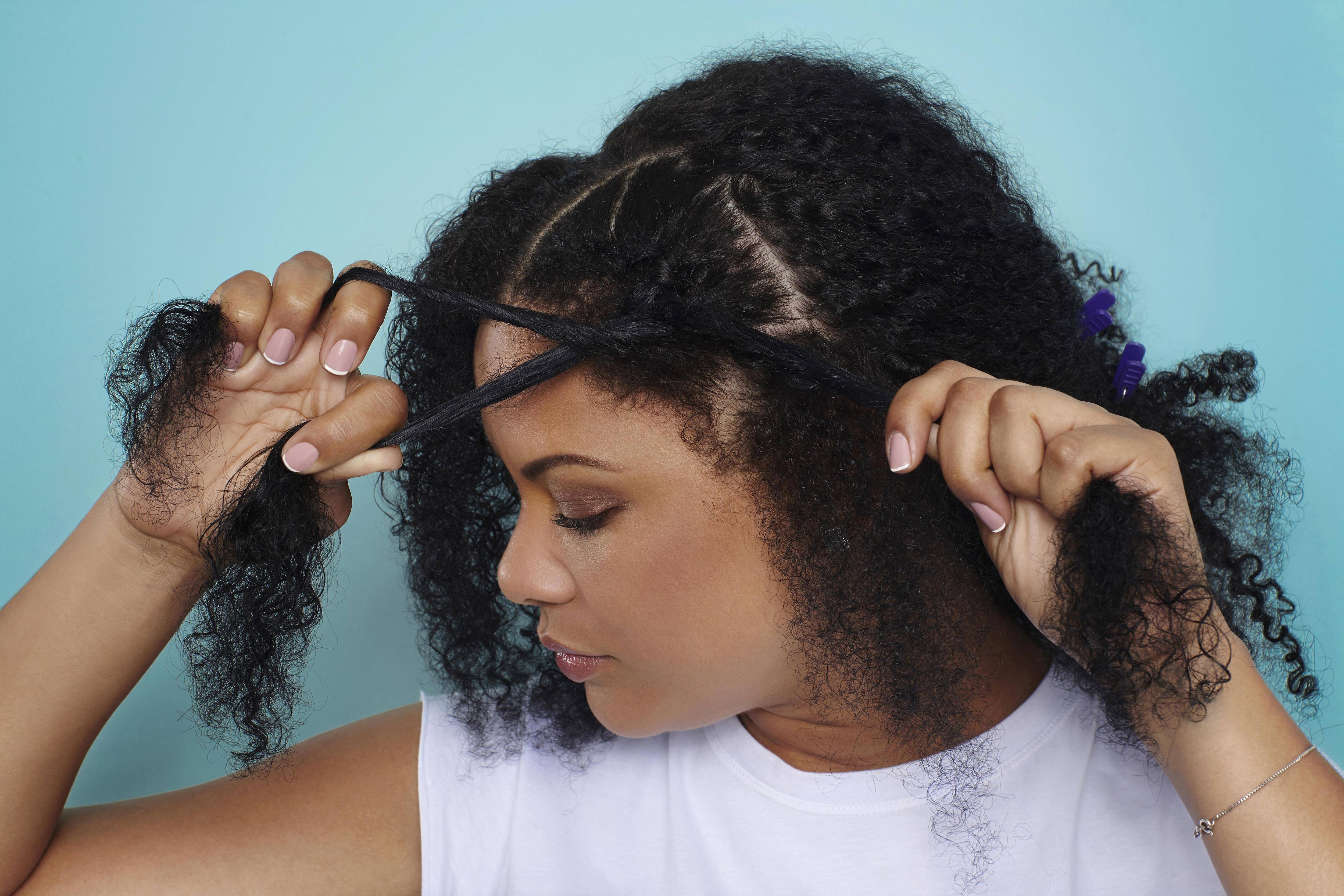 Braid Styles With Natural Hair: Natural Hair Braids: An Easy Dutch Braid/Pony Combo For