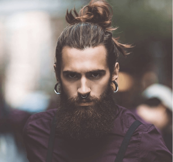 How to Rock a Man Bun with Philip Bottenberg