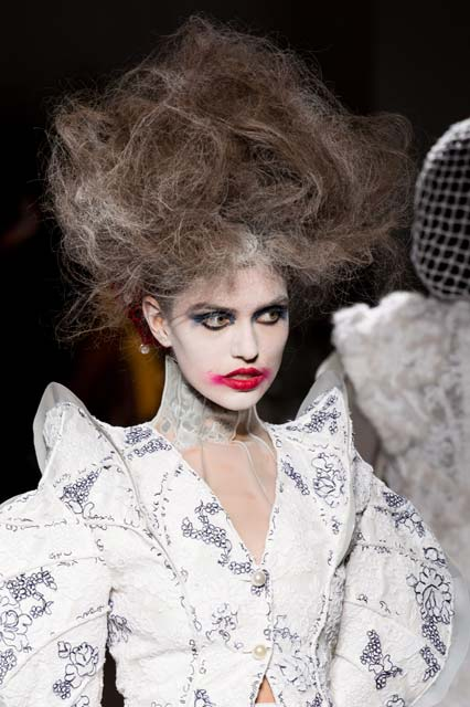 zombie Halloween hair