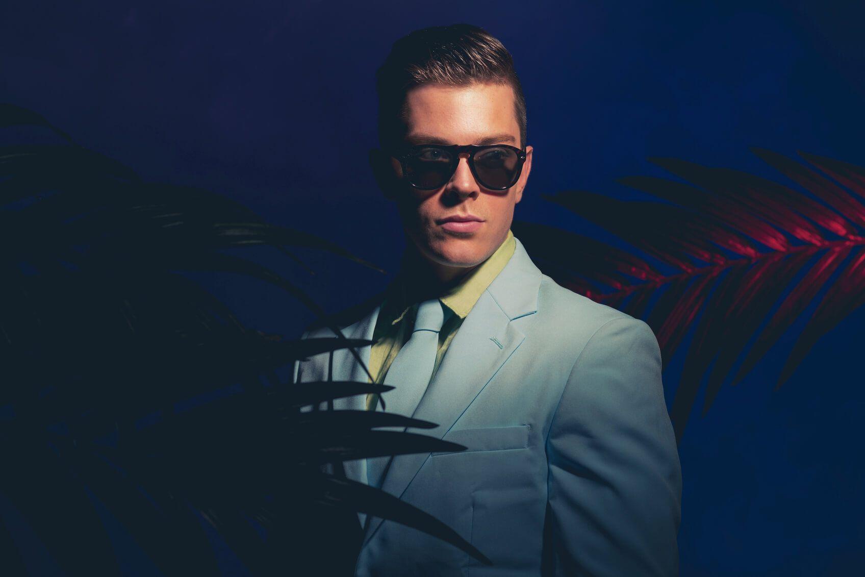'80s halloween hair Miami Vice