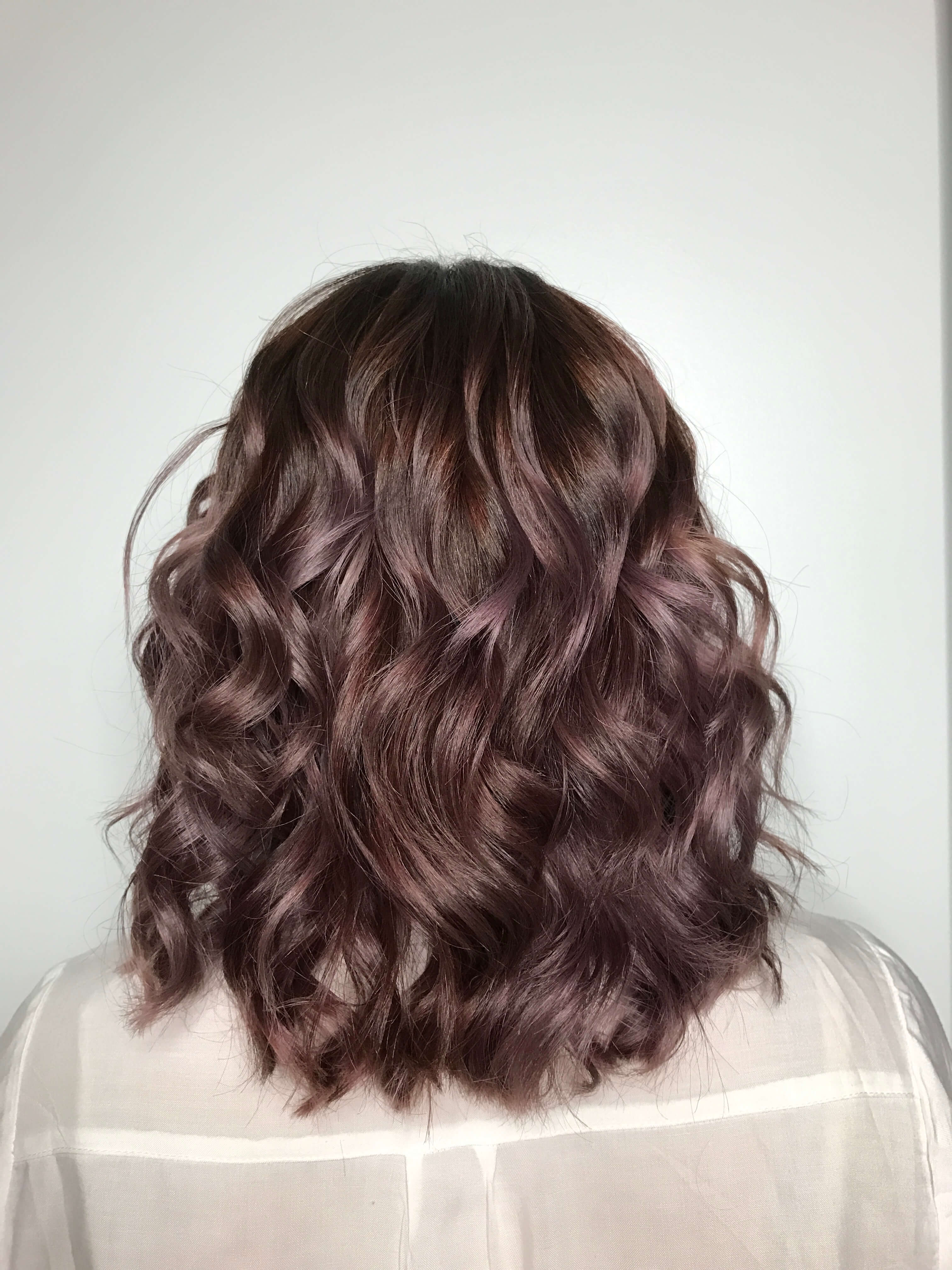 Chocolate Mauve Hair The New Rose Gold