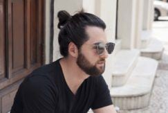 how to tie a man bun in under 3 minutes dark knot