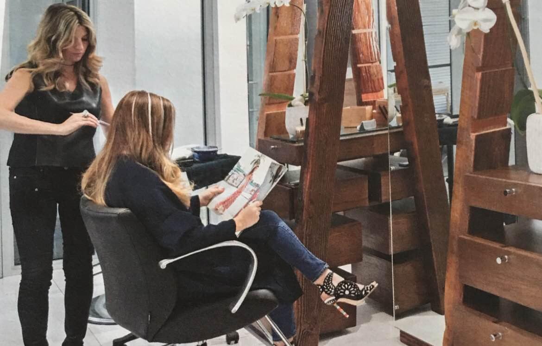 hair gurus Allison Bentov