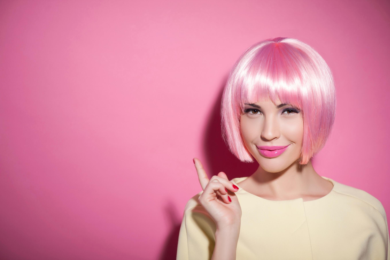 halloween pink hairstyles movie girl