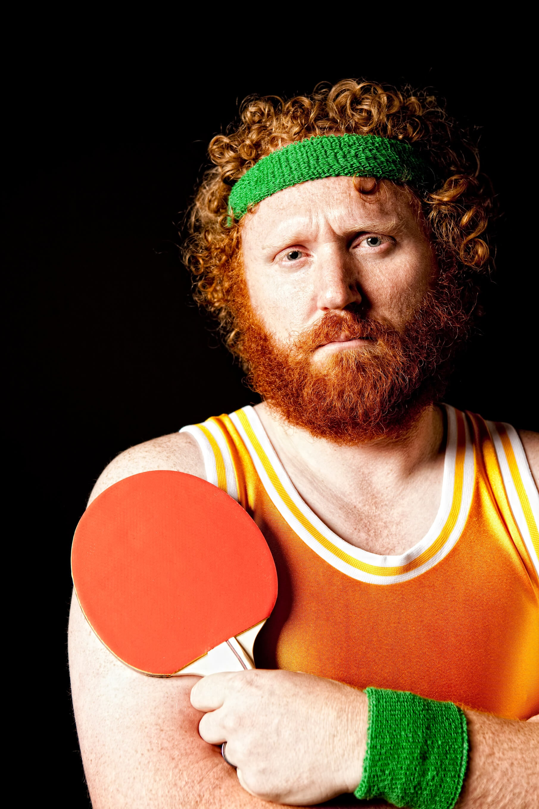 Ping pong player costume