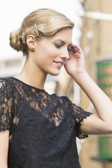 Long Hairstyles for Women vintage updo