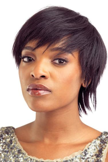 blowout hairstyles for short hair