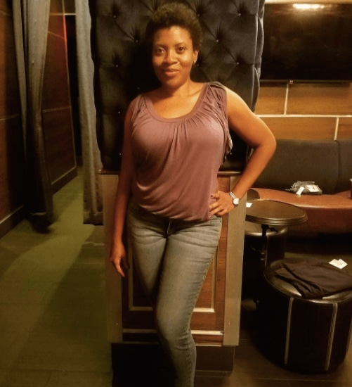 natural short hair interview with Shaniqua Garvin