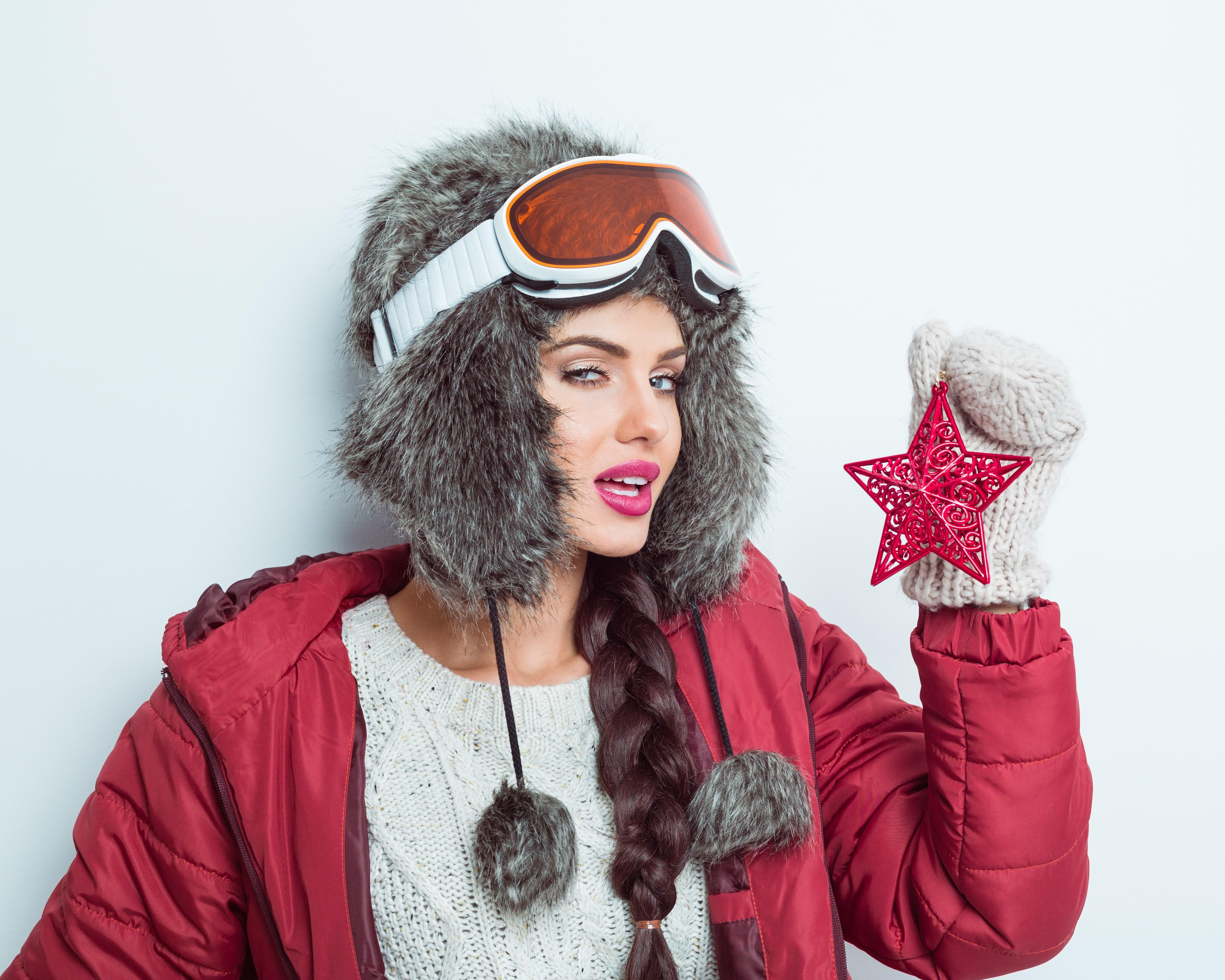 winter hats braid