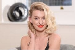 zoe new year's eve hairstyles 1950s curls