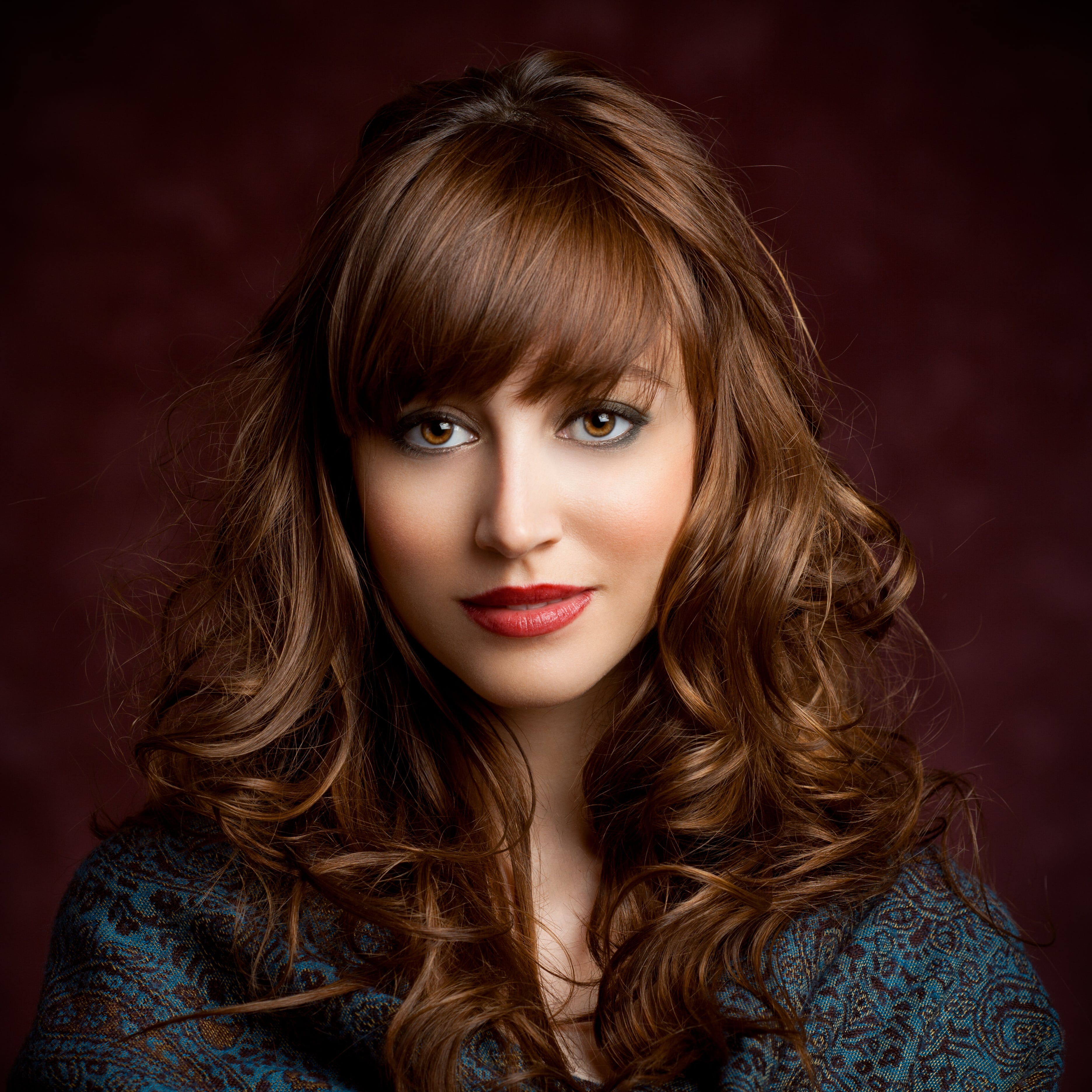 Awesome Curly Hairstyles With Bangs 3 Styles We Love Hairstyles For Women Draintrainus