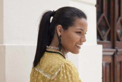 Engagement Party Hair Ideas ponytail