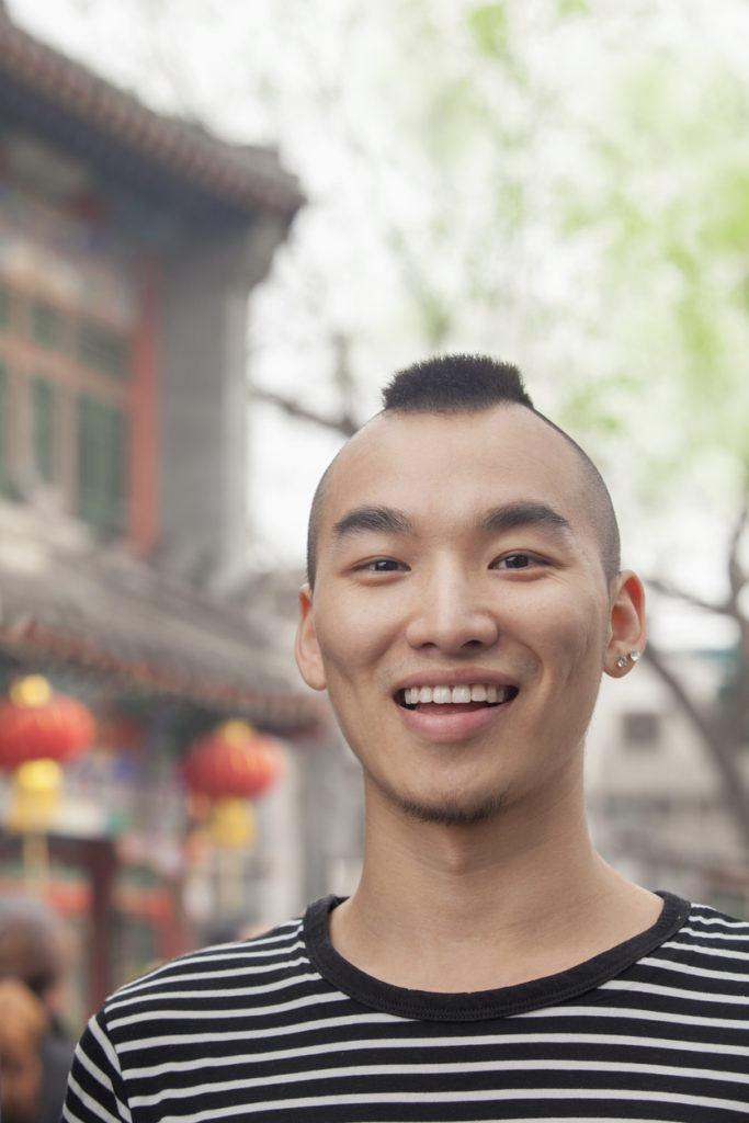 mohawk hairstyle: mini mohawk