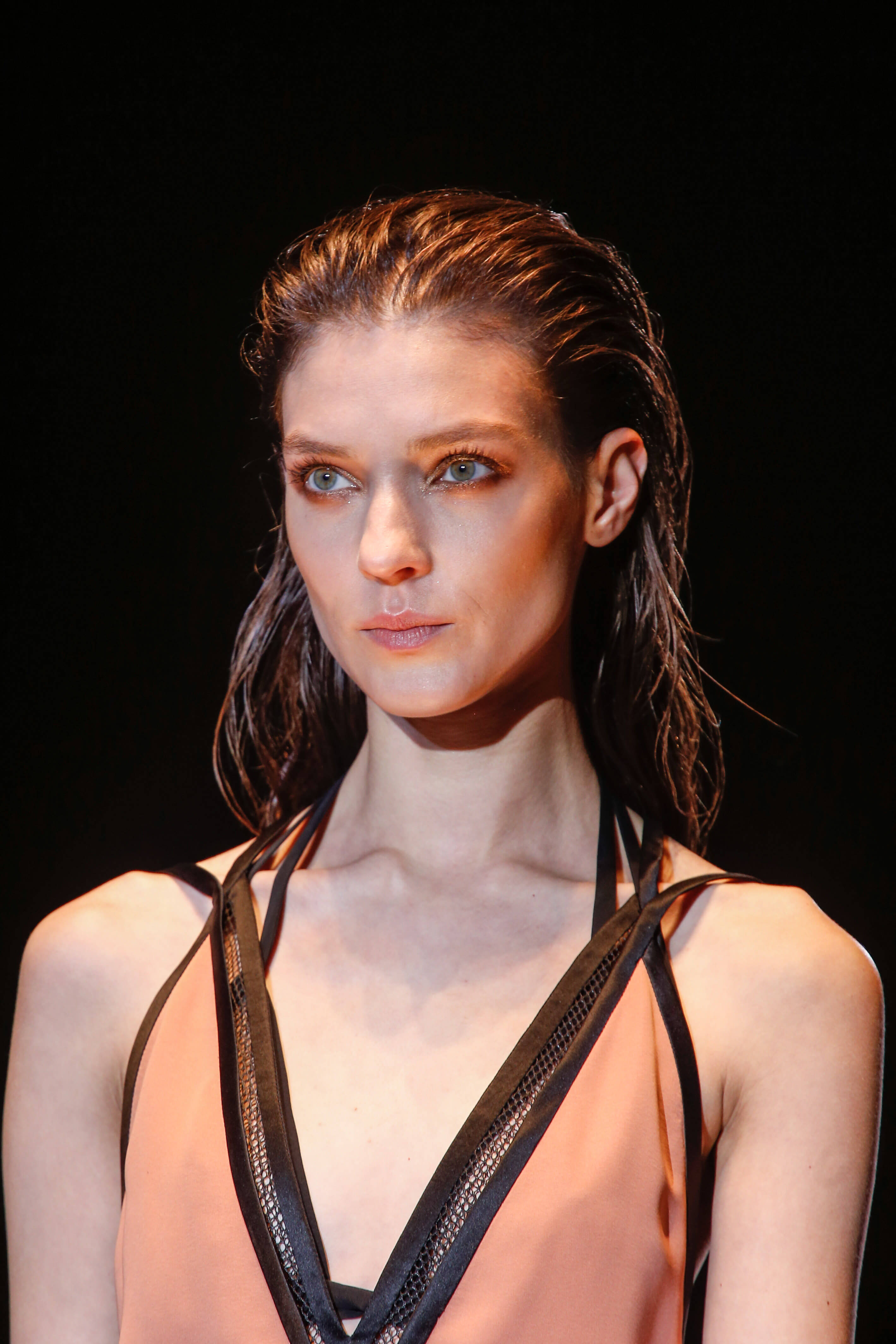 wet hair hairstyle trends