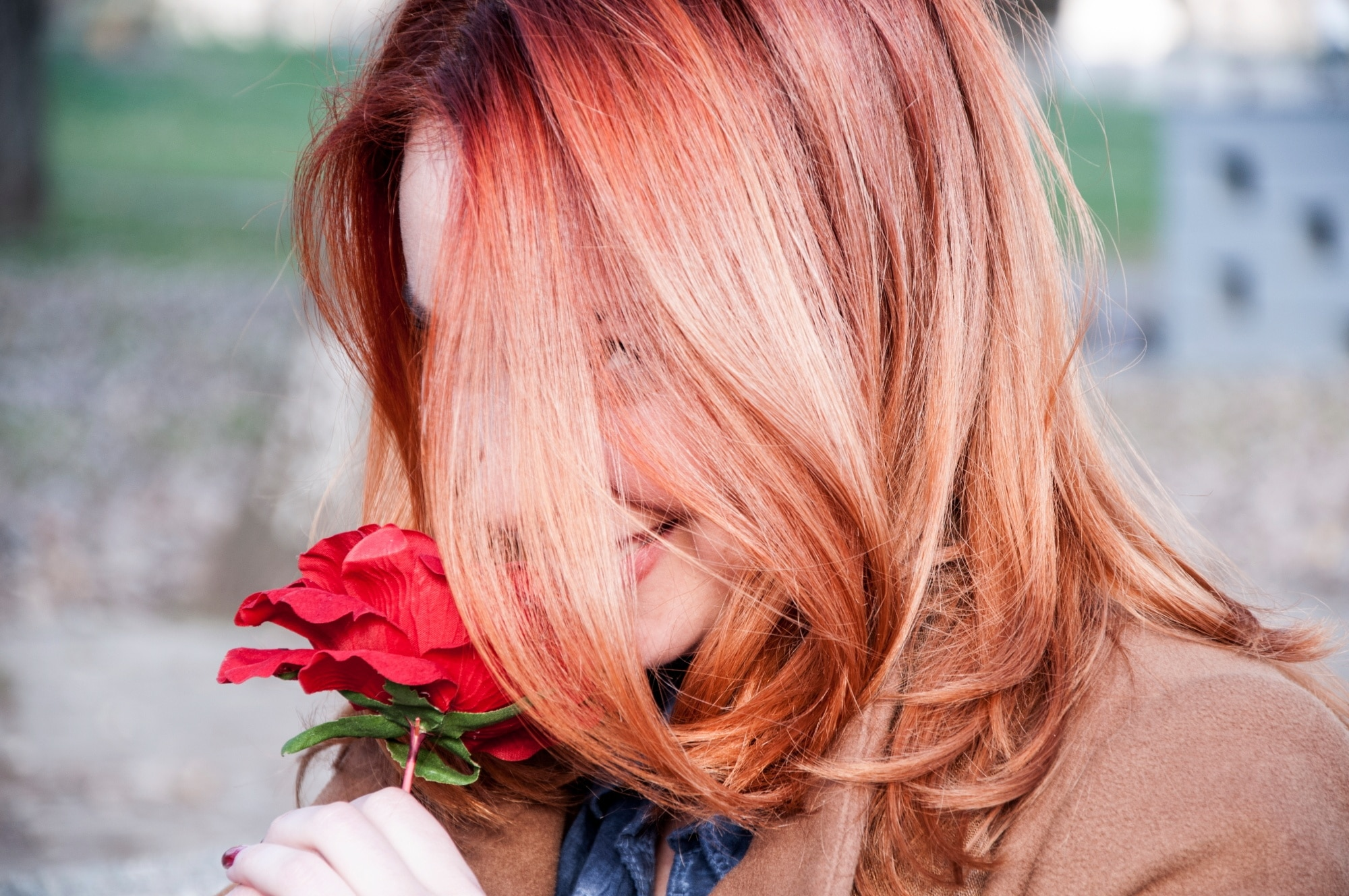 blorange hair: tips & inspo for getting blood orange hair hues