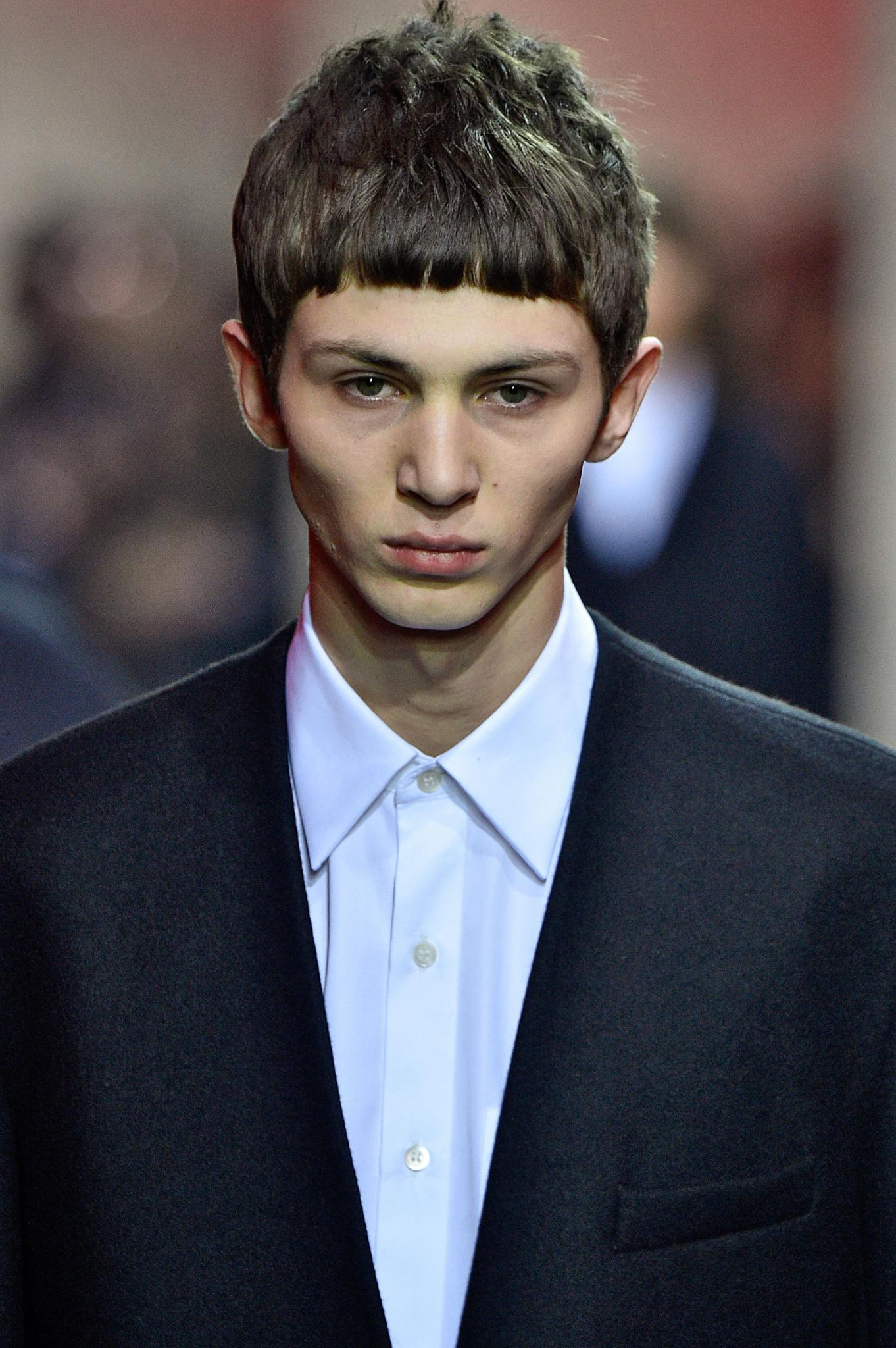 Fringe Haircuts For Men How To Get The Fw 17 Runway Look