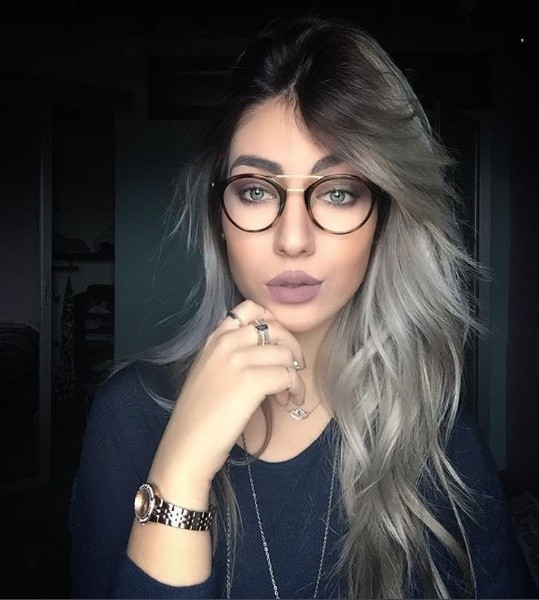 Gray Hair Color Trend Hair Interview With Influencer From
