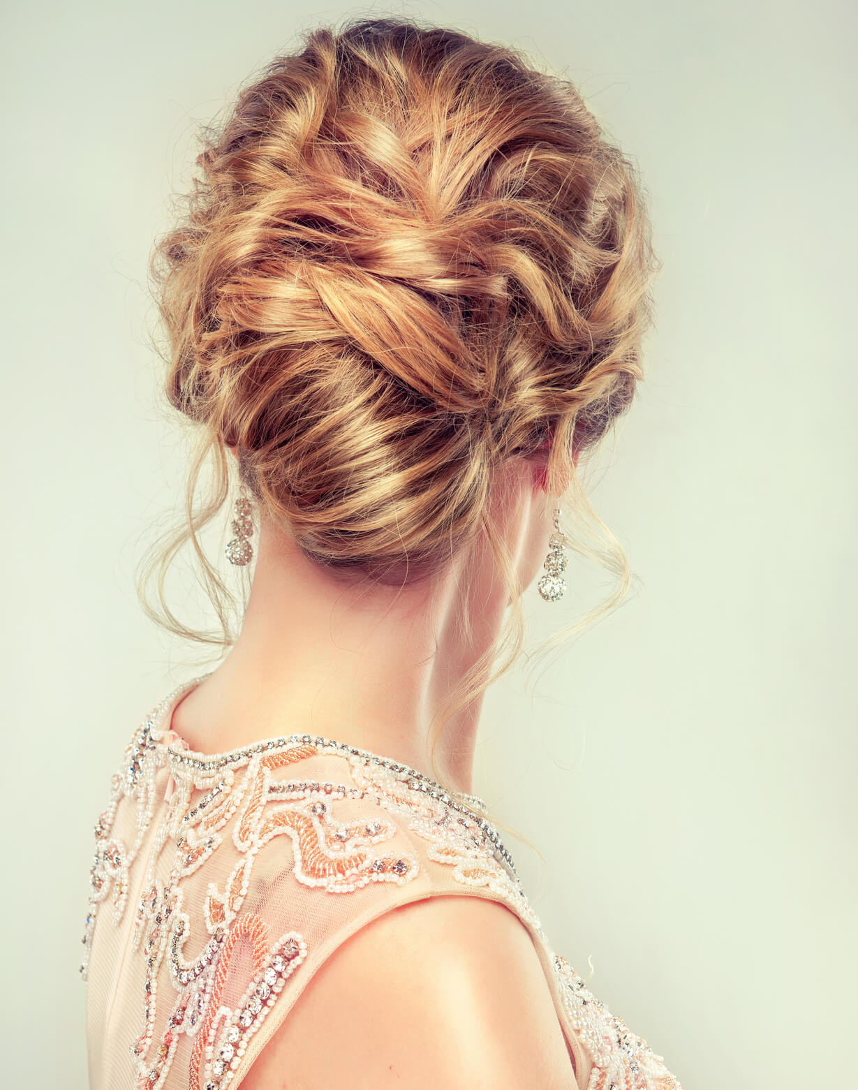 Valentine's Day Updos twisted updo