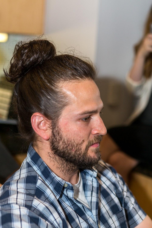 how to do a man bun tutorial