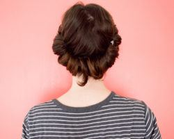 growing out an undercut | hairstyles to wear the princess roll