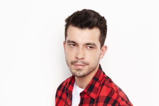 style short hairstyles for men with gel