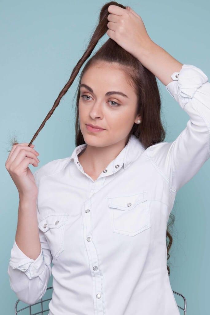 avoid split ends dust your hair