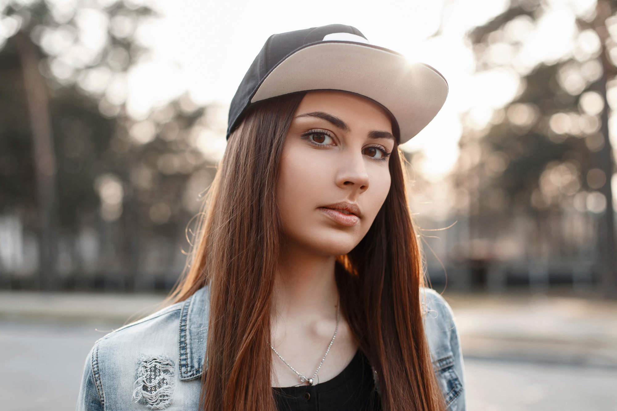 sporty hairstyle ideas with straight hair