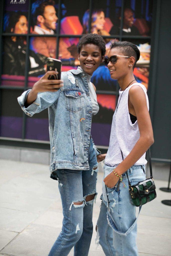 The Best Hairstyles To Pair With Your Denim Looks