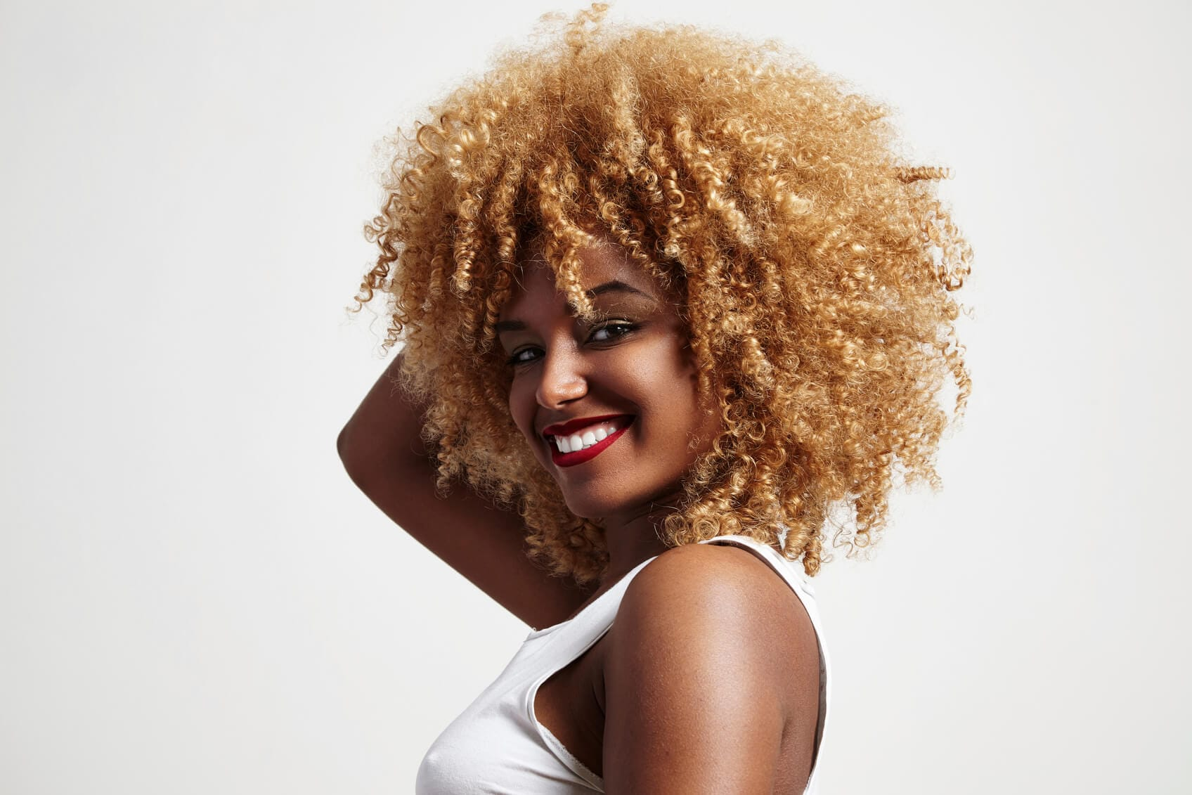 Blonde Afro Hair Gallery And Tips When You Want To