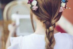 four easy hair braiding styles flower crown blonde hair