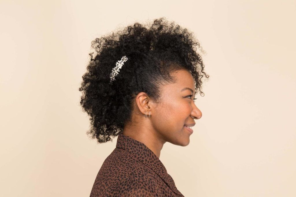 easy natural hairstyles: frohawk