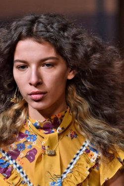 Hair Trends from NYFW wavy hair