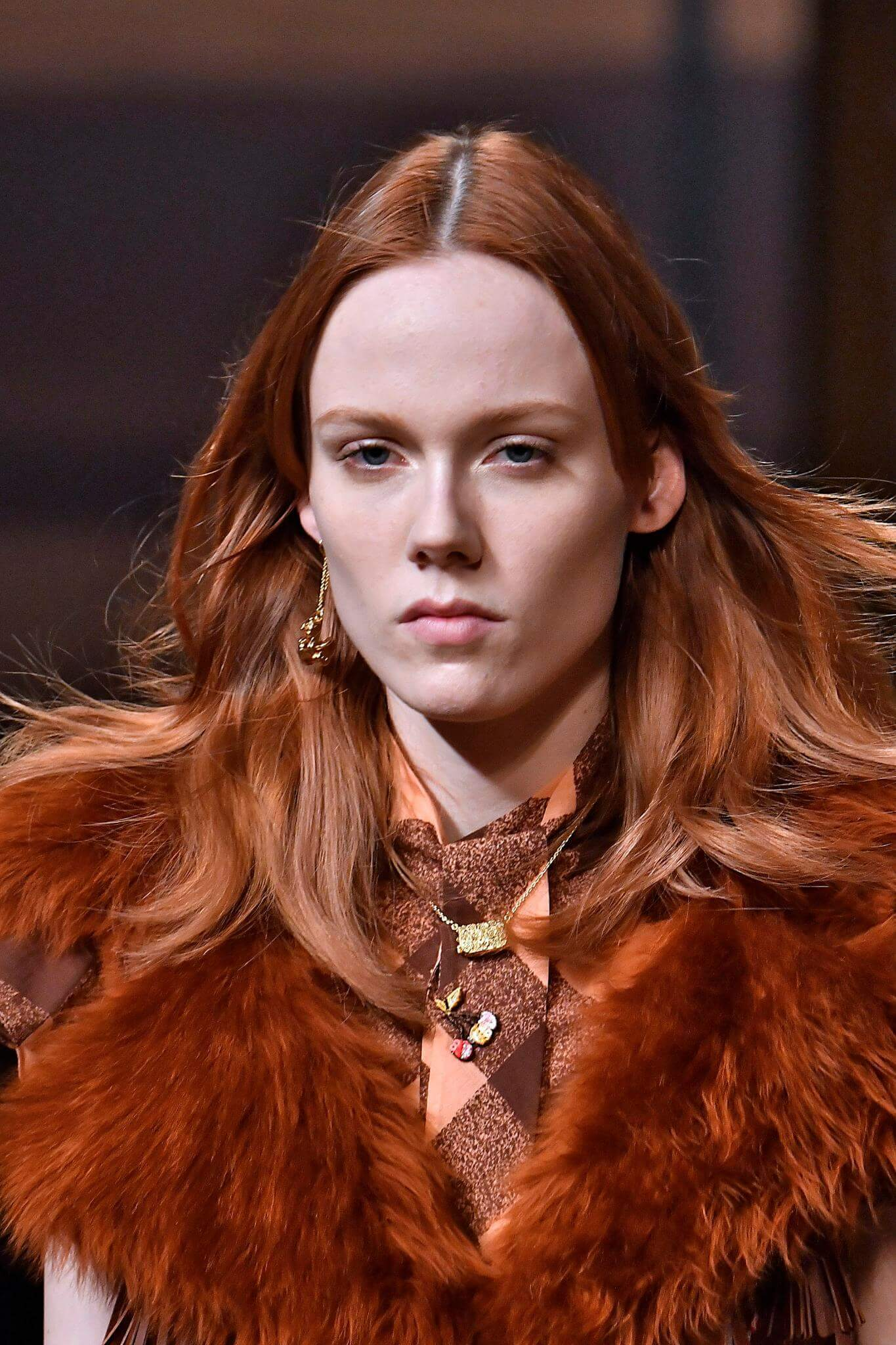 hair trends from NYFW red hair