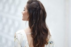 easy to do honeymoon hairstyles the half updo