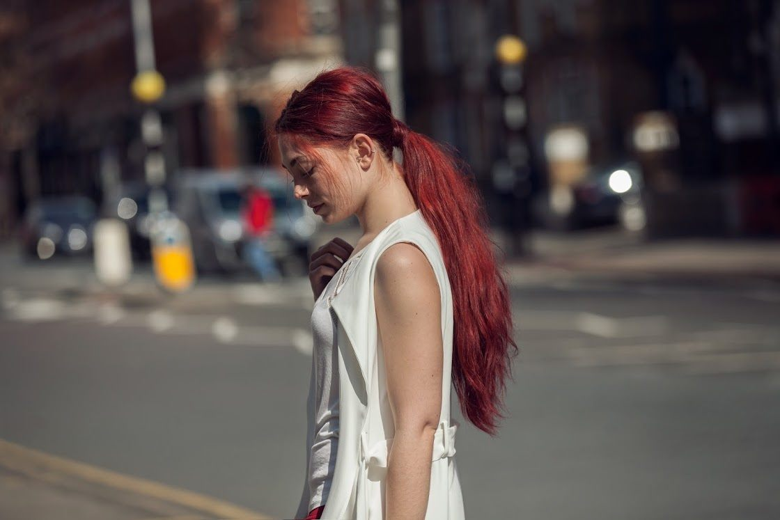get inspired by Ruby jewel toned hair colors