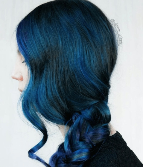 10 ways to rock jewel toned hair colors