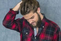 cool man top knot hairstyles to try out this year