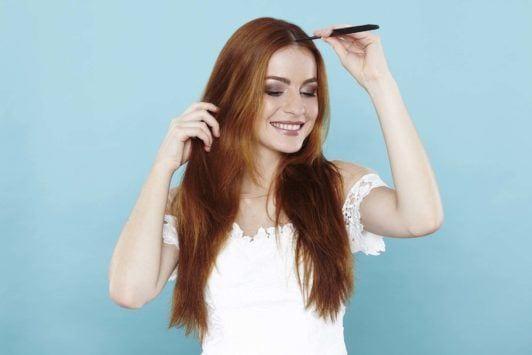fishtail braid step-by-step guide comb hair