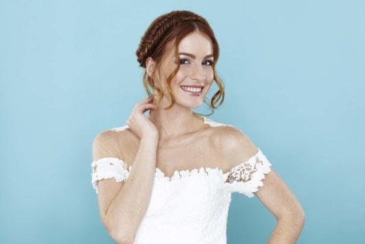 fishtail plait step-by-step curl your hair