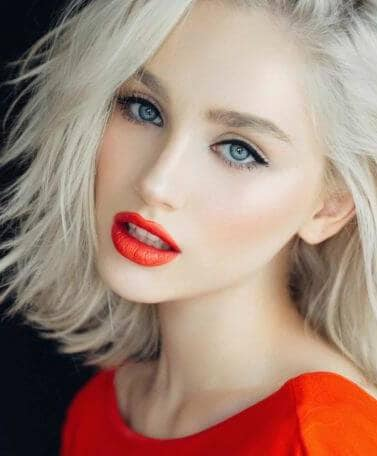 platinum blonde hair trend