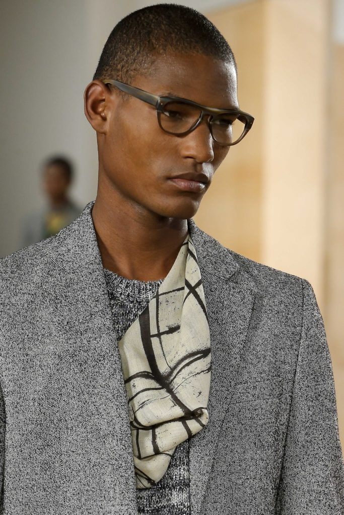 Different short buzz haircuts for black men